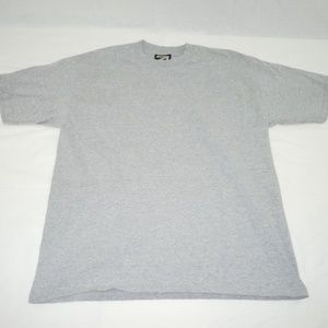 Rue21 Plain Gray Basic Tee T-Shirt Small Runs Big